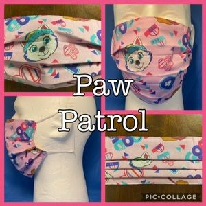 Paw patrol nick face mask cover 3 LAYER